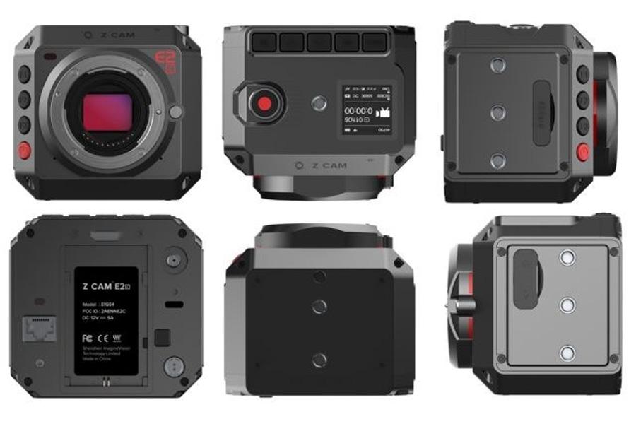 La caméra Z-Cam EC2, nouvelle compétitrice sur le segment des 4K compacts et low budget.