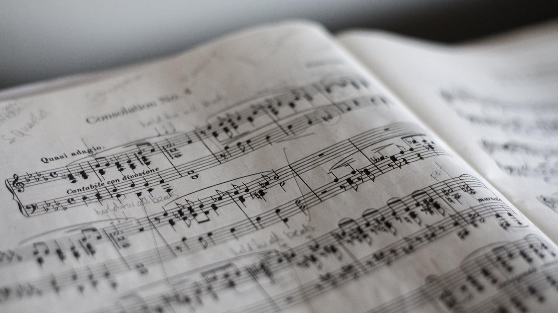 Composition musicale - partition