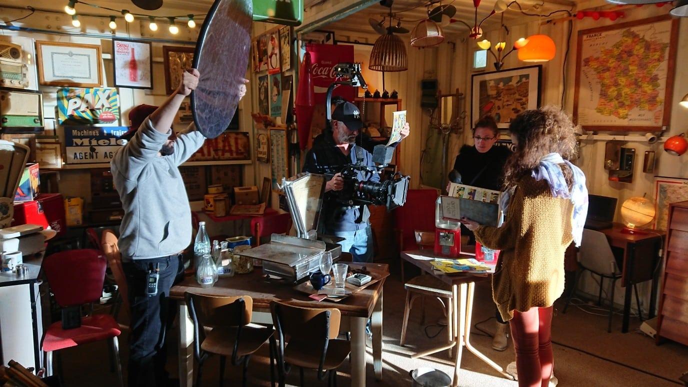 équipe tournage EO Production