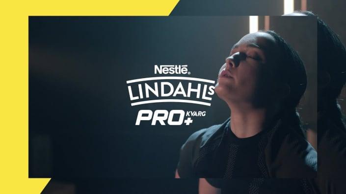 Visionnez nos spots pub Nestlé Lindahls PRO+ pour des campagnes social media