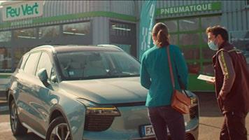 Feu Vert s'associe avec Aiways, ensemble tournés vers les nouvelles mobilités